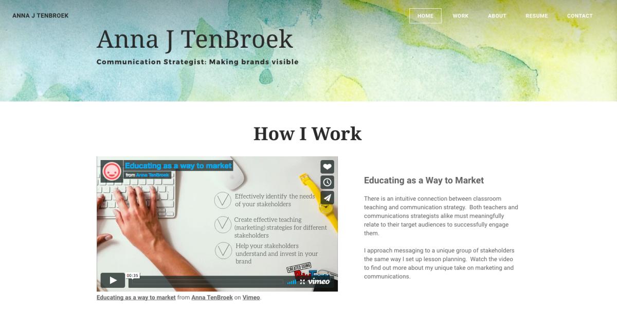 Anna TenBroek e-portfolio