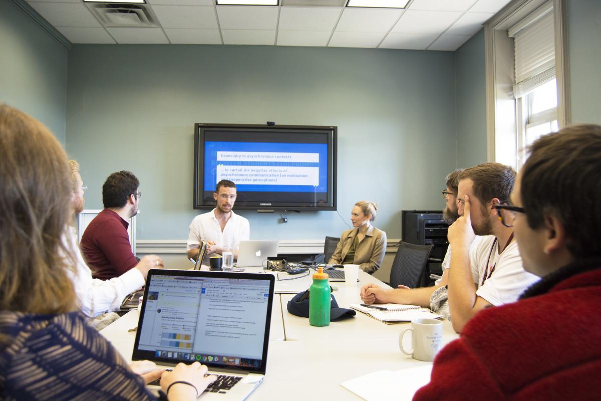 Dan Davis KIE talk at Georgetown University