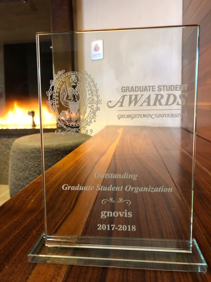 gnovis Journal named Outstanding Student Organization