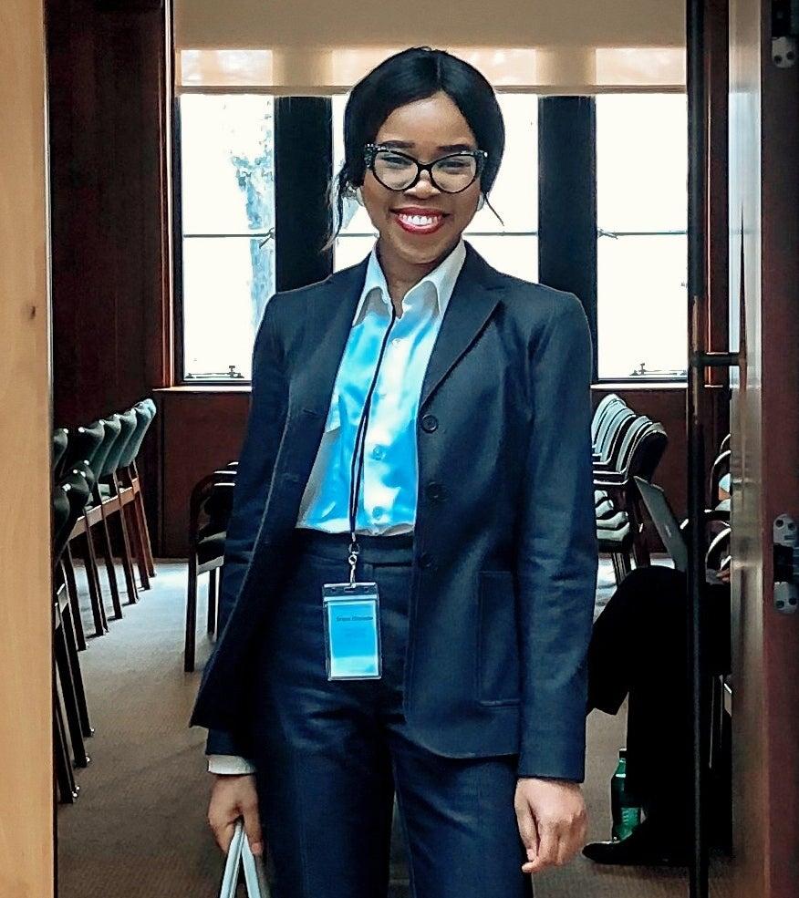 Grace Chimezie at ST Global