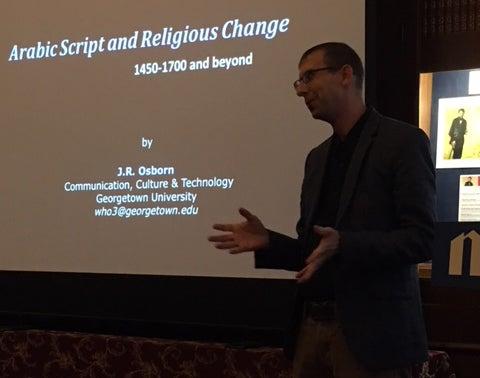 CCT Professor J.R. Osborn in Chicago for book talks