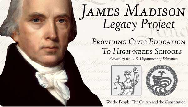 James Madison Legacy Project logo