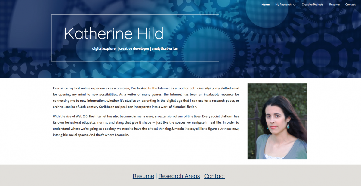 Katherine Hild e-portfolio
