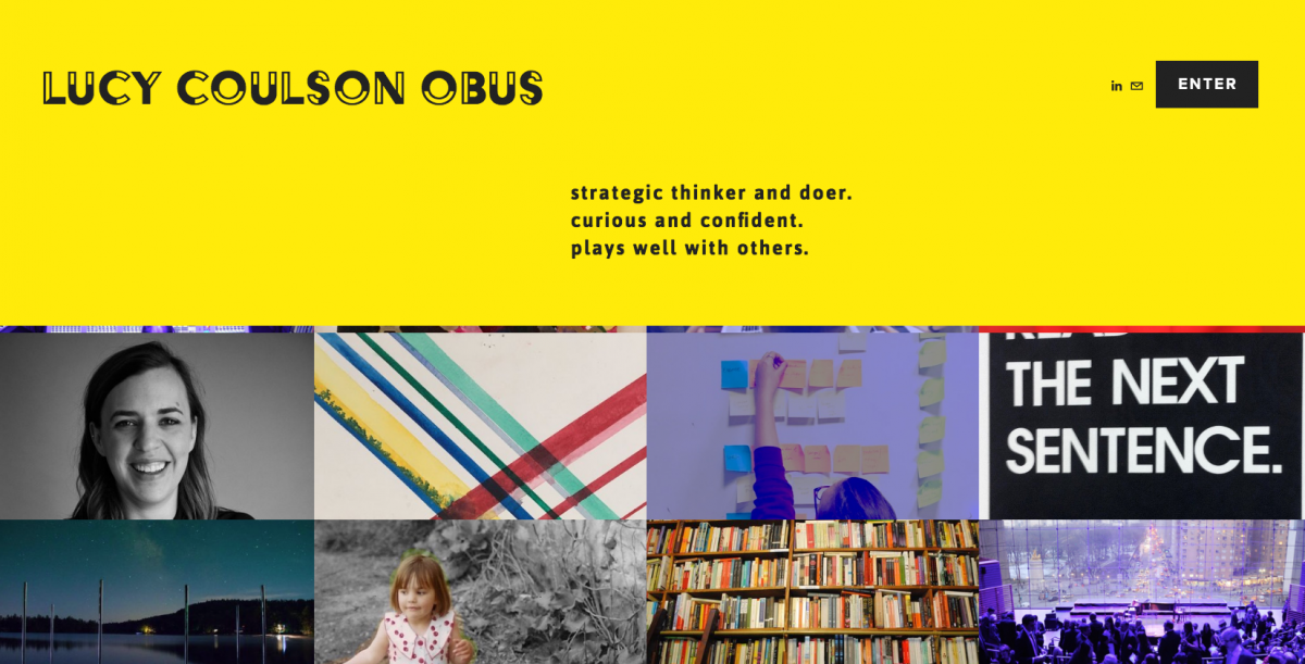 Lucy Obus e-portfolio