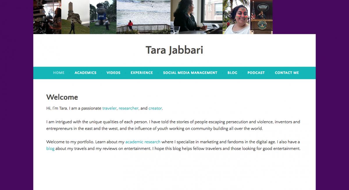 tara jabbari e-portfolio