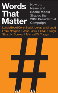 Cover of Professor Bode's book Words That Matter