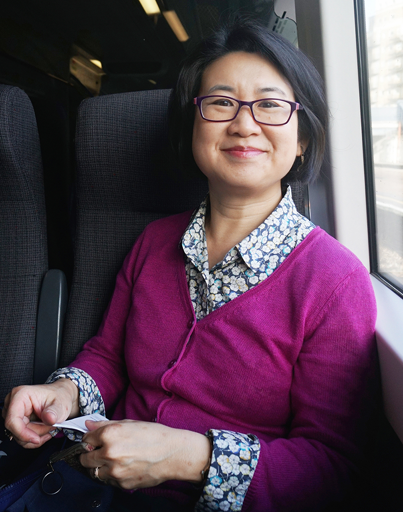 Portrait of Dr. Irene Wu